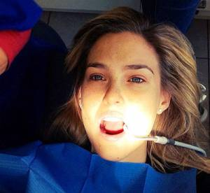 Bar Refaeli, Kim Kardashian : On file chez le dentiste... et sur Instagram !