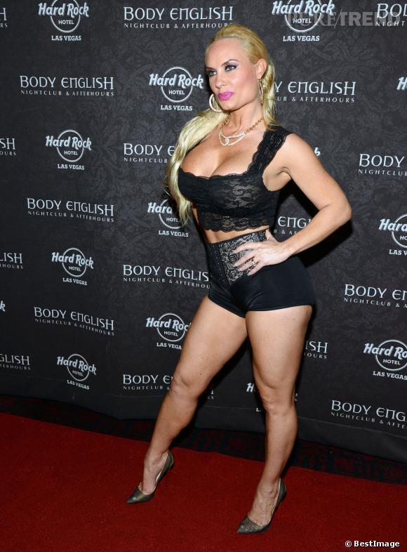 Coco Austin à Las Vegas : difficile de faire plus vulgaire.