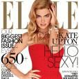 Kate Upton, glamour pour le ELLE US.