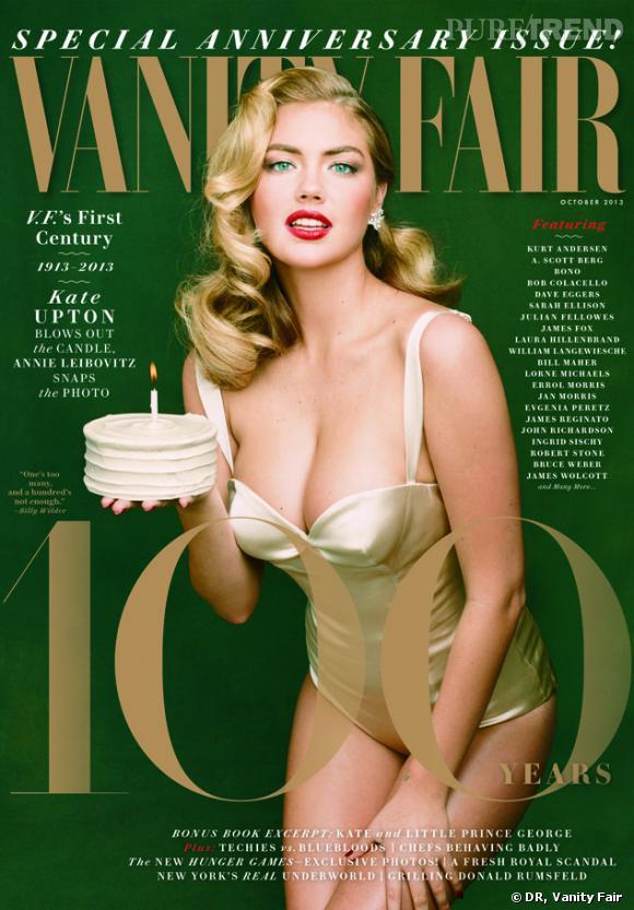 "Kate Upton, absolument renversante pour le Vanity Fair ""Anniversary Issue""."
