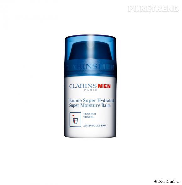 ClarinsMen Baume Super Hydratant, prix : 37,20 euros.