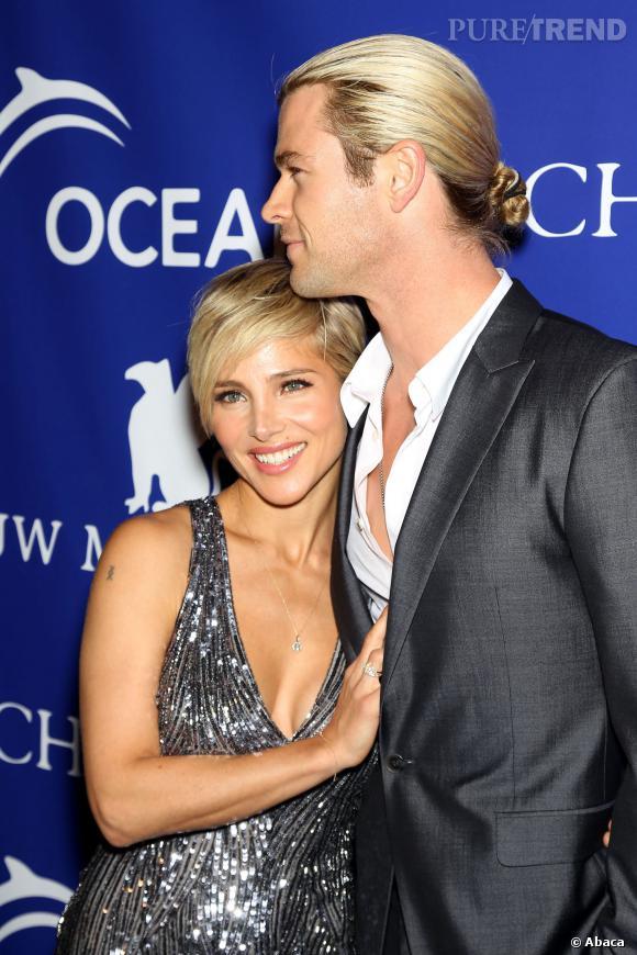 L'acteur Chris Hemsworth est aussi adepte de la queue de cheval.