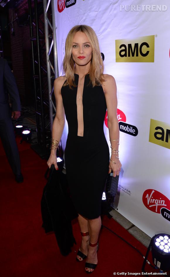 """Vanessa Paradis lors de la projection de """"Fading Gigolo"""" au Festival du film de Toronto le 7 septembre 2013."""