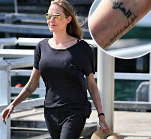 Angelina Jolie s'offre un nouveau tatouage, son 18eme !