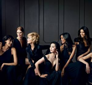 Les égéries L'Oréal participent à une campagne glamour pour une beauté non standardisée grâce à la gamme Color Riche Collection Privée.
