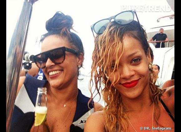 Rihanna a beaucoup de fans qui suivent ses photos sur Twitter et Instagram.