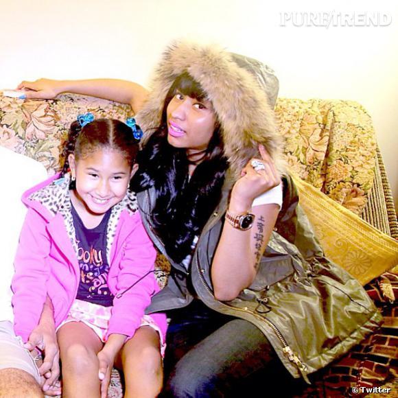 Nicki Minaj n'a découvert que récemment qu'elle avait une demi-soeur du nom de Ming.