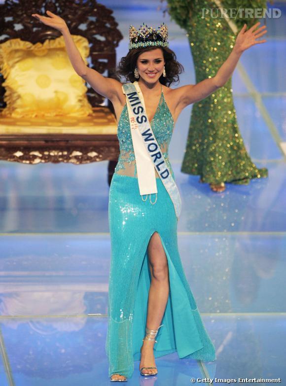 María Julia Mantilla, Miss Pérou, devenue Miss Monde en 2004.