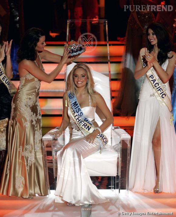 Unnur Birna Vilhjálmsdóttir, Miss Islande devenue Miss Monde en 2005 !