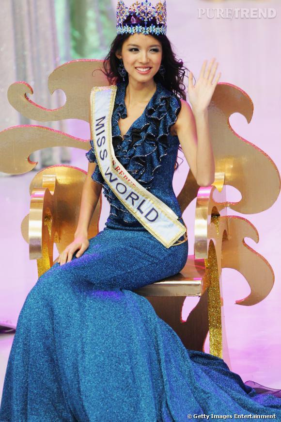 Zhang Zilin, Miss Chine devenue Miss Monde en 2007.