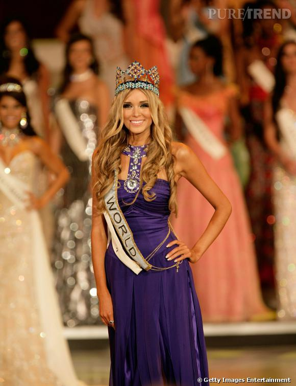 En tête de notre classement : Ksenia Soukhinova, Miss Russie devenue Miss Monde en 2008 !