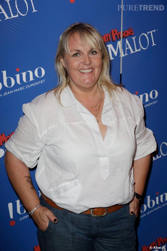 Valérie Damidot était aussi présente lors de l'after party Spamalot.