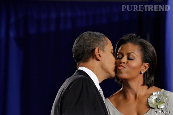 Barack Obama et Michelle Obama fêtent leurs 21 ans de mariage ce 4 octobre 2013.