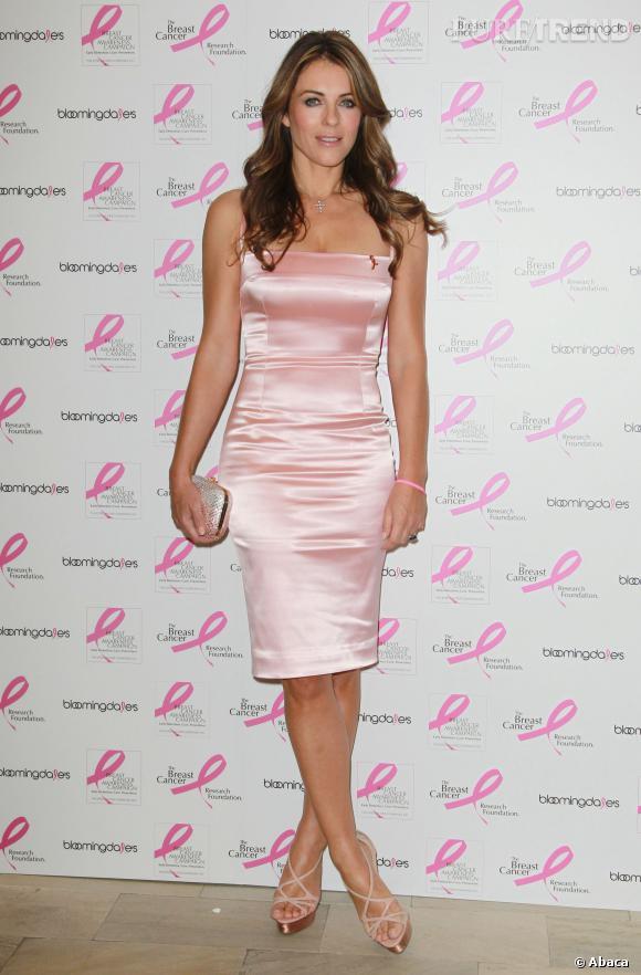 Cela fait maintenant 19 ans que Liz Hurley se bat aux côtés d'Estée Lauder pour que les femmes soient plus au courant de l'importance du dépistage par mammographie.