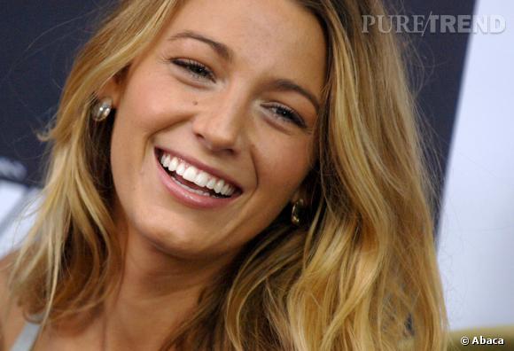 Blake Lively frôle la perfection avec son sourire.