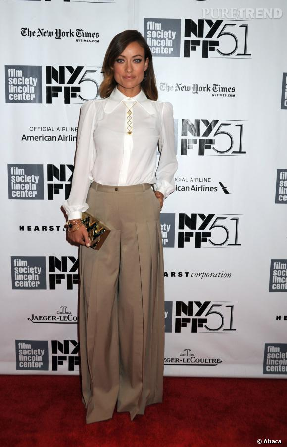 "Olivia Wilde à la première de ""Her"" à New York."