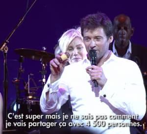 Hugh Jackman fête son anniversaire avec 4500 invités.