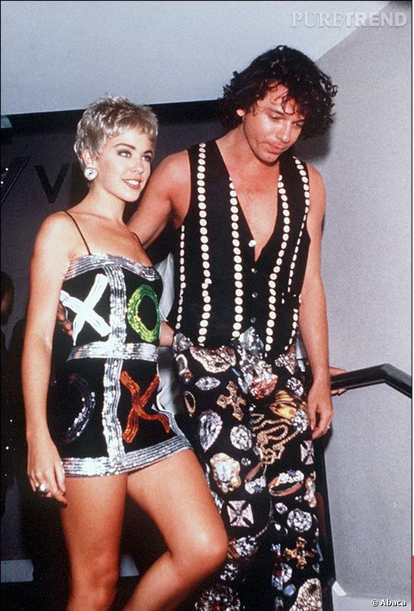 De 1989 à 1991, Kylie Minogue a été vue au bras de Michael Hutchence.
