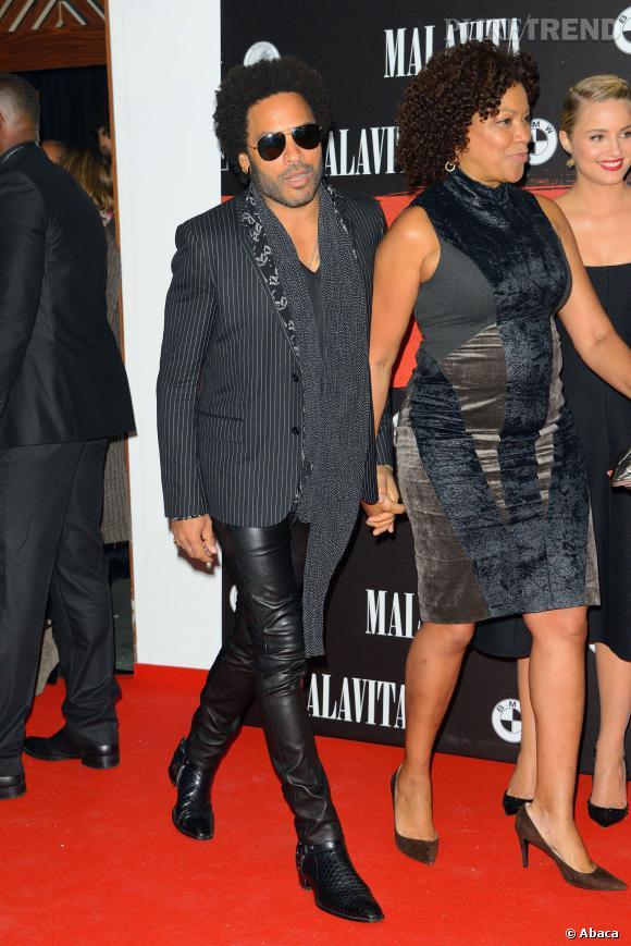 Lenny Kravitz a lui aussi fait le déplacement.