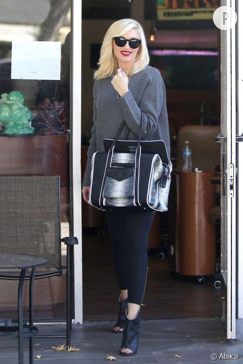 Gwen Stefani à Los Angeles.