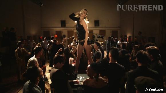 Kate Moss, dance sexy pour le clip Queenie Eye de Paul McCartney.