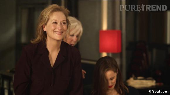 Maryl Streep se prête au jeu avec plaisir.