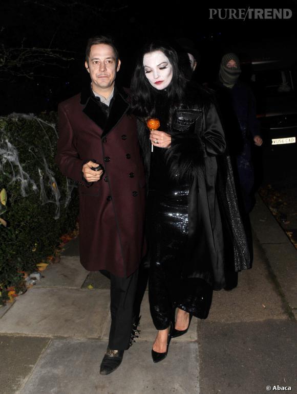 Le look Halloween de Kate Moss