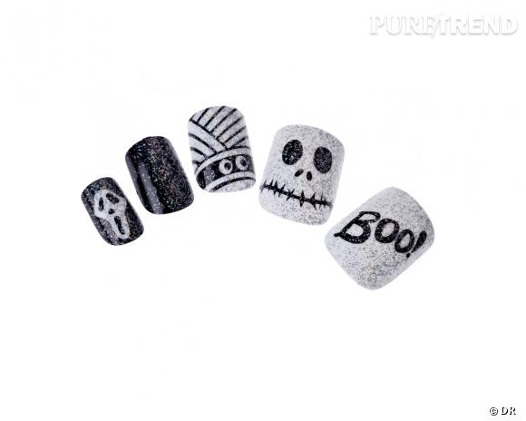 faux ongles halloween