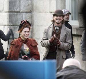 Billie Pipper et Josh Hartnett en plein tournage de la nouvelle série produite par Sam Mendes.