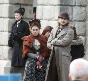 Billie Pipper et Josh Hartnett tournent au chateau de Dublin.