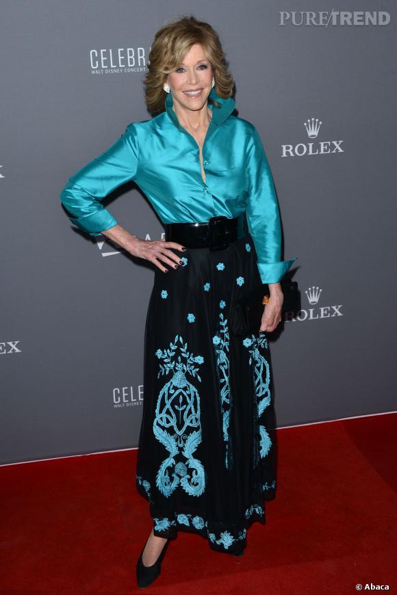 Jane Fonda, 75 ans.