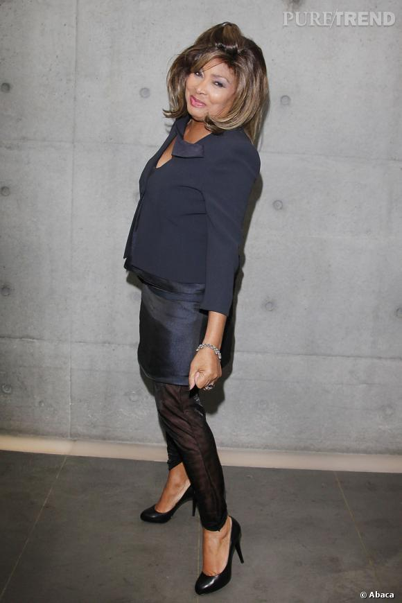 Tina Turner 73 ans.