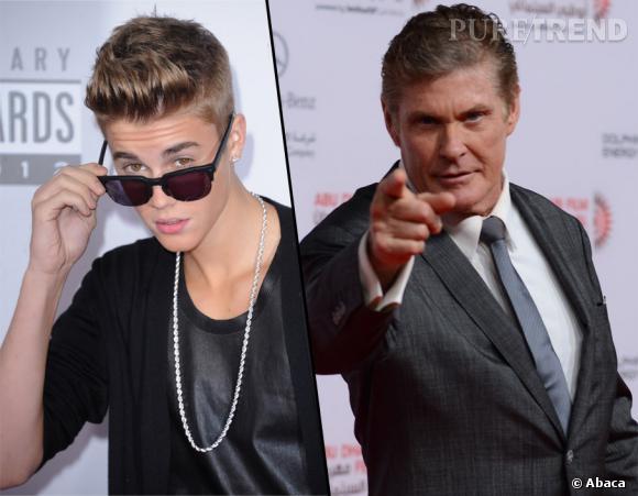 Justin Bieber jouerait-il au grand frère avec David Hasselhoff ?