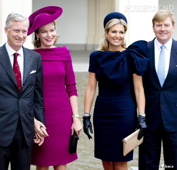Mathilde de Belgique et Maxima des Pays-Bas, deux reines qui éclipsent leurs rois.