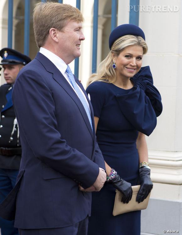 La reine Maxima des Pays-Bas et le roi Willem Alexander, un couple royal parfaitement assorti.
