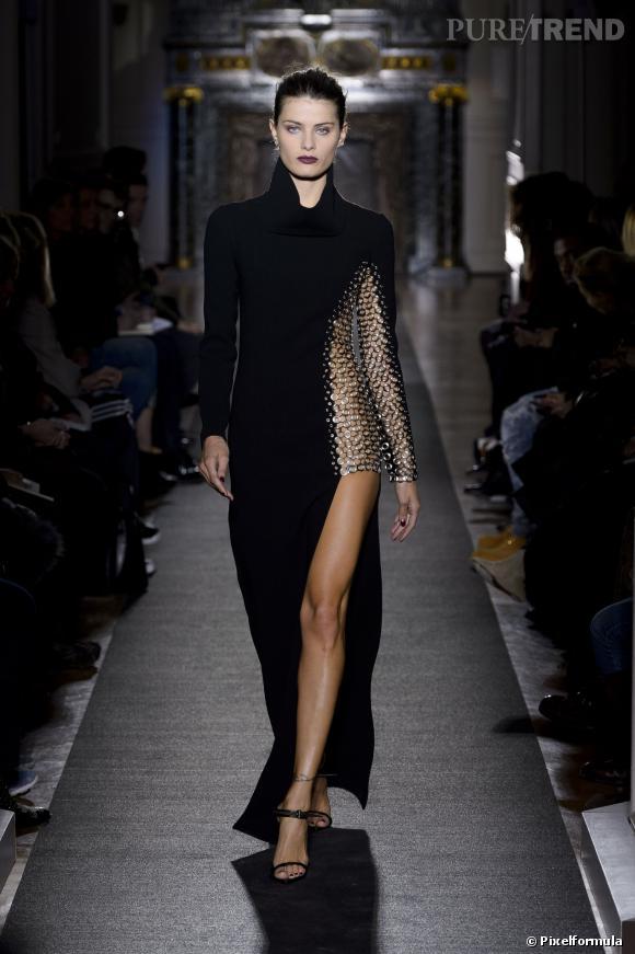 A copier pour un look sexy : la robe fendue comme chez Anthony Vaccarello Défilé Automne-Hiver 2013/2014