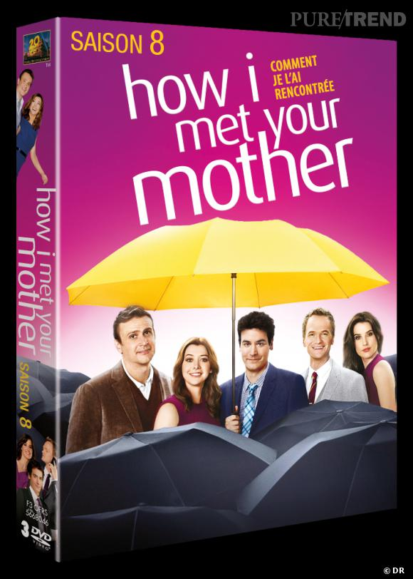 """""""How I Met Your Mother"""" saison 8. La série la plus culte du moment au prix de 29.99 €."""