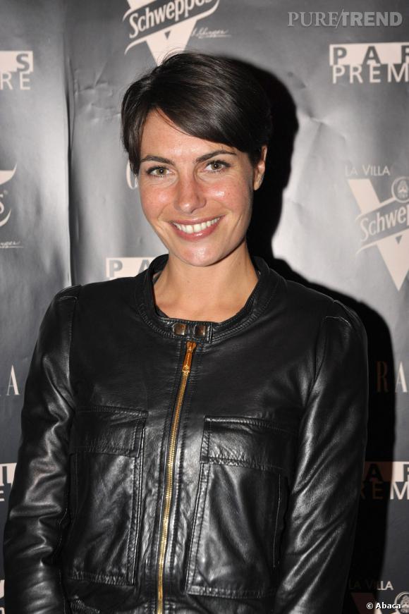 Alessandra Sublet, adepte elle aussi de la garçonne.