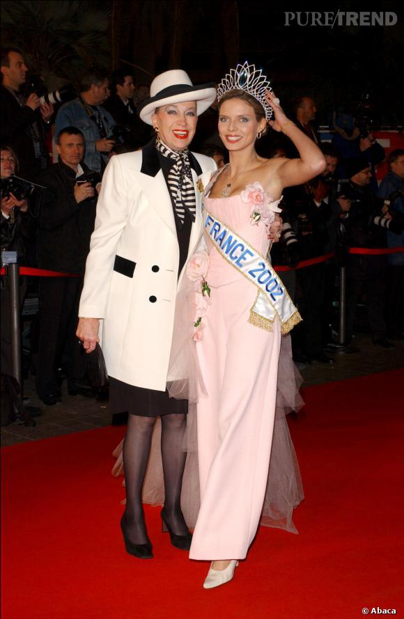 Geneviève de Fontenay et Sylvie Tellier, la guerre des miss est belle et bien terminée.