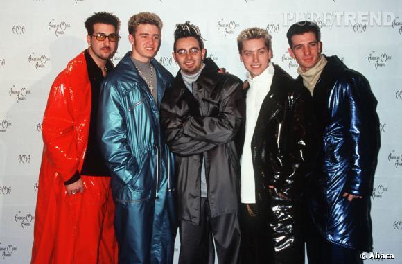 Les N'Sync en 2000.