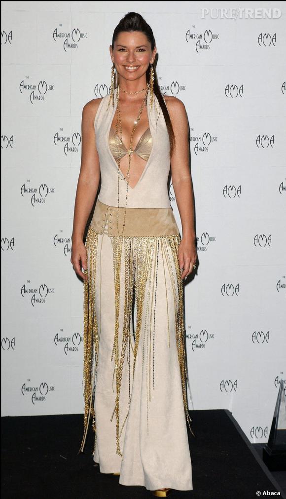 Shaina Twain le retour en 2003.