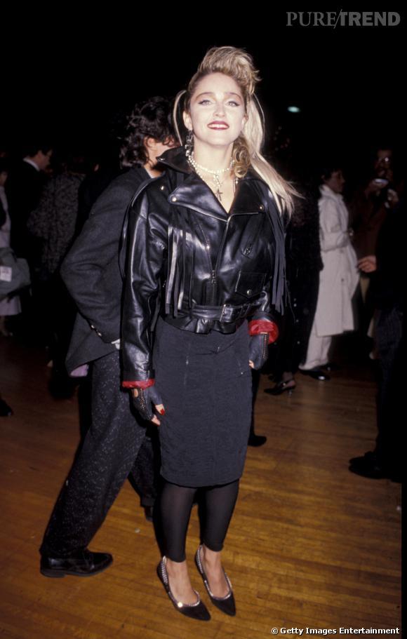 Madonna en 1985.