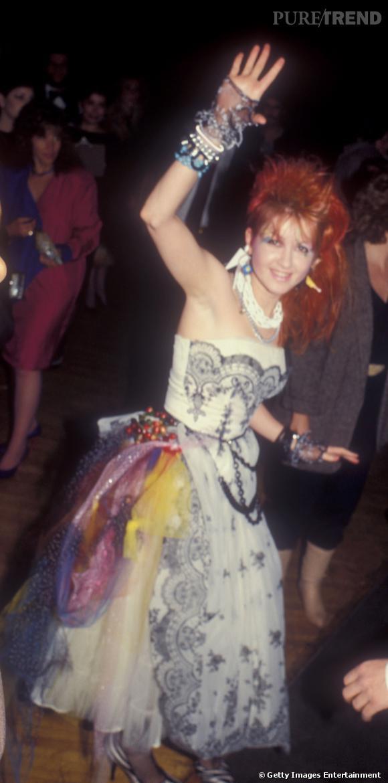 Cindy Lauper en 1984.