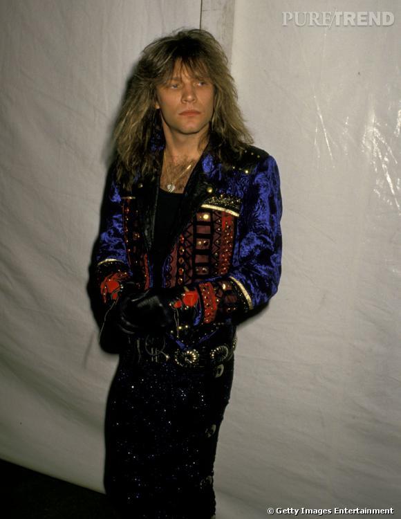 Bon Jovi en 1988.