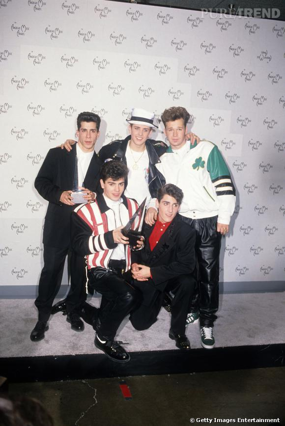 Les New Kids on The Block en 1990.