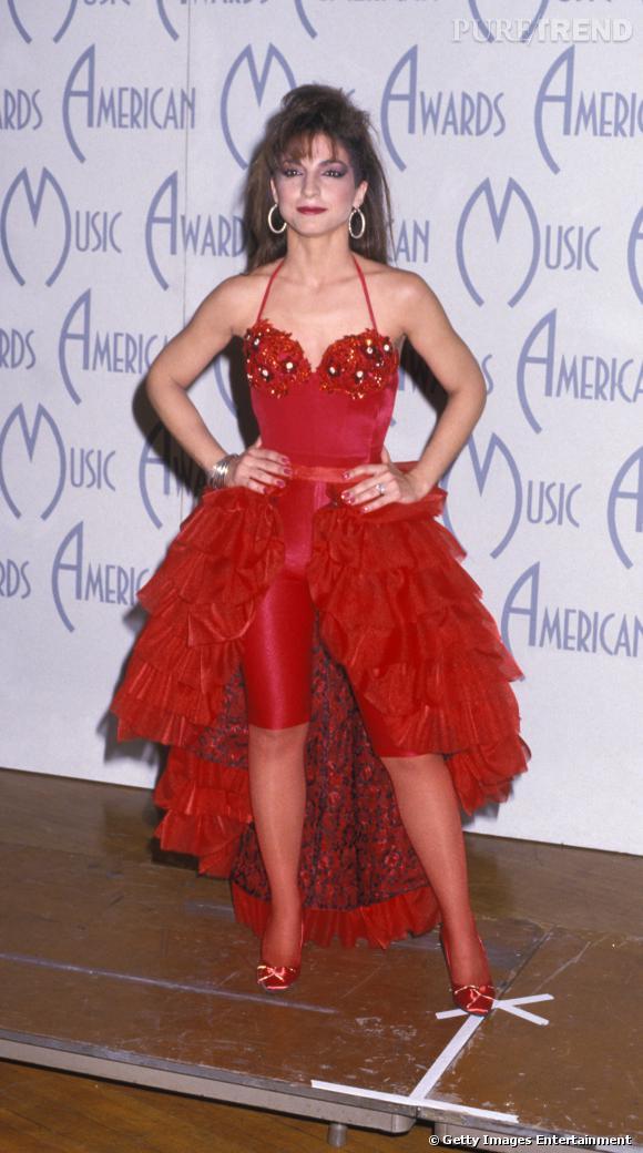 Gloria Estefan en 1988.