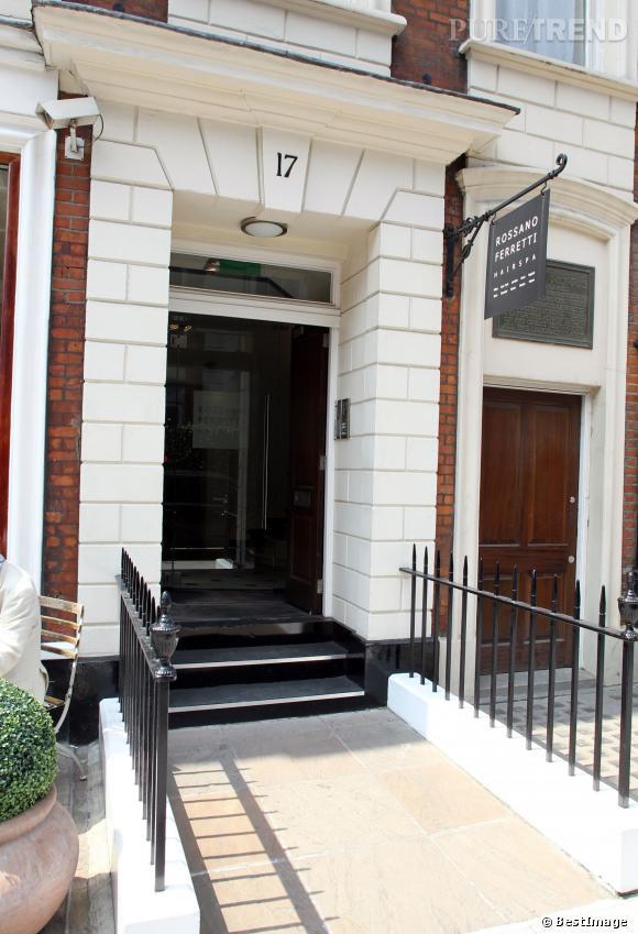 Le spa capillaire Rossano Ferretti, l'un des salons les plus luxueux de Londres, fréquenté par Kate Middleton.
