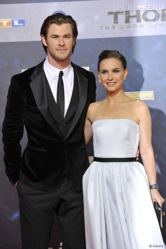 Chris Hemsworth a-t-il été déçu de ne pouvoir embrasser la divine Natalie Portman ? Ça, nous ne le sauront jamais !