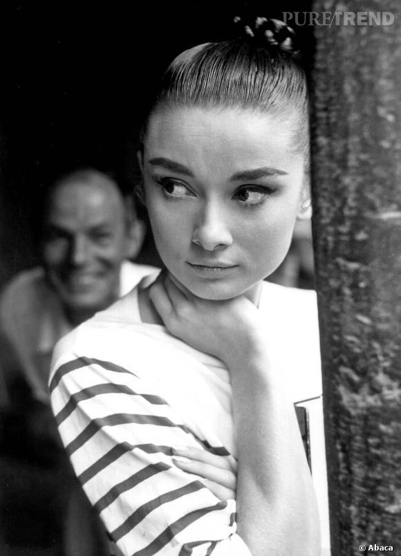 Les sourcils épais d'Audrey Hepburn
