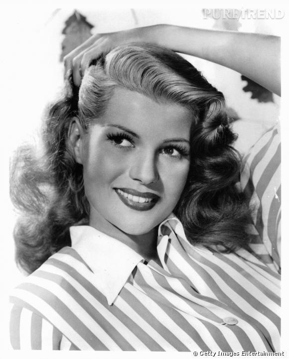 Rita Hayworth et ses cils XXL !